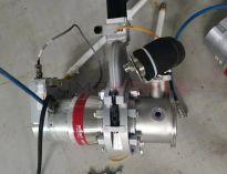 Used Pfeiffer ATH500M Turbo Pump with VAT 95244-PAGD-ABV3 Valve