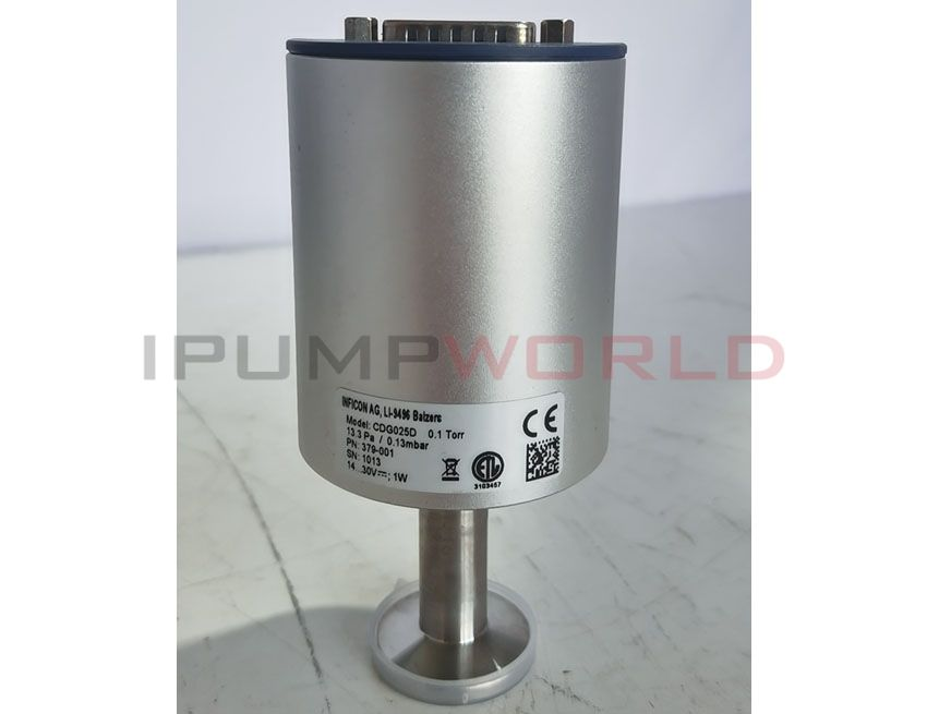 Used inficon CDG025D Temperature Compensated Capacitance Diaphragm Gauge, 0.1 Torr, Working