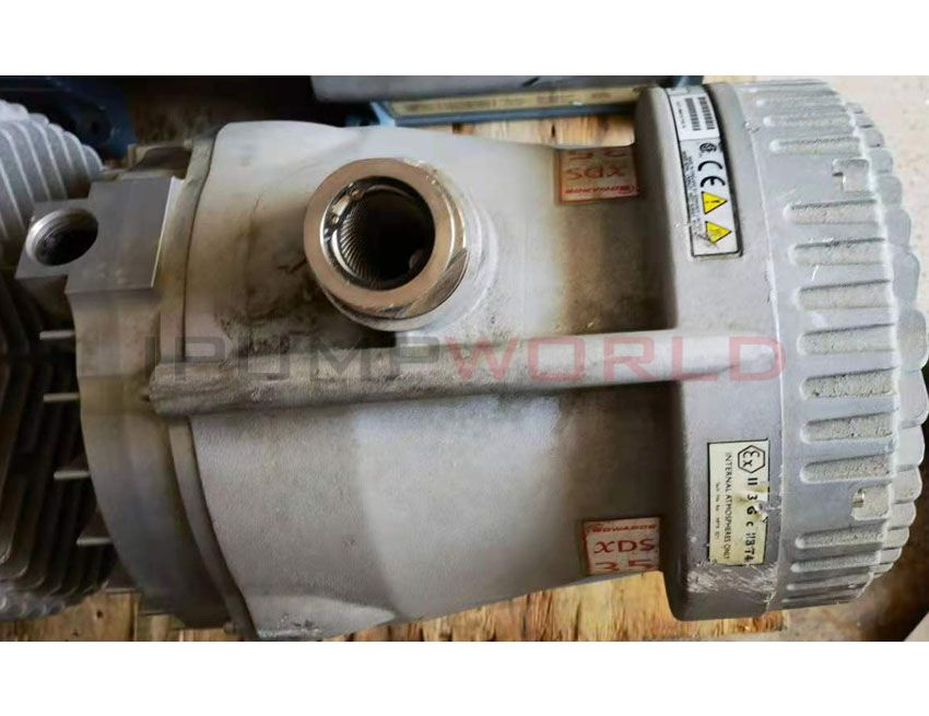 Used Edwards XDS35i DRY SCROLL PUMP