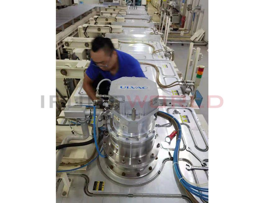 Used ULVAC UTM-3304FW TURBO MOLECULAR PUMP
