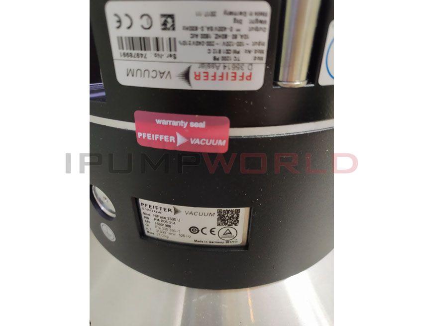 Used Pfeiffer Hipace 2300U Turbo Pump working, PMP06314