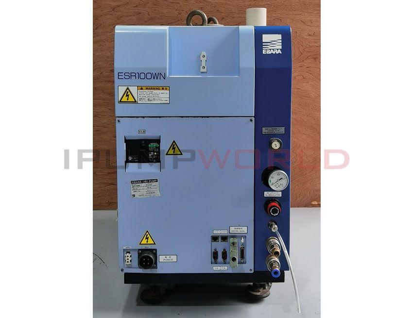 Used EBARA ESR100WN Dry Pump Working