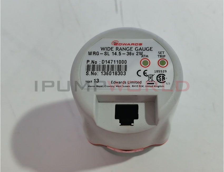 Used EDWARDS WRG-SL 14.5-36v 2W D14711000 WIDE RANGE GAUGE Working