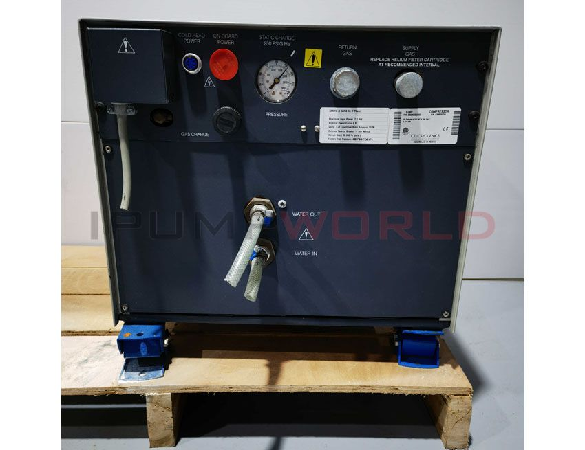 Used CTI 8200 COMPRESSOR Working