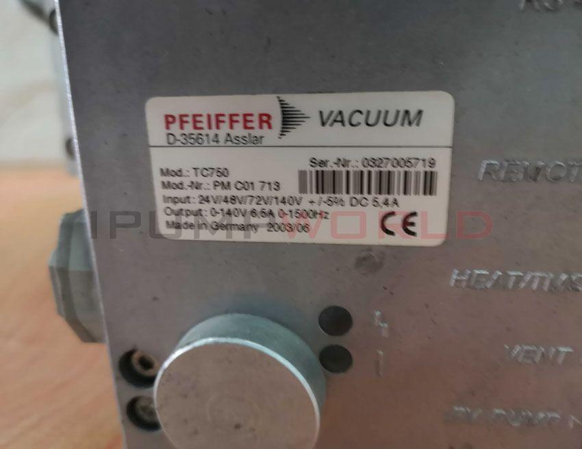 Used Pfeiffer TPH 2101 UP Turbo Pump Working
