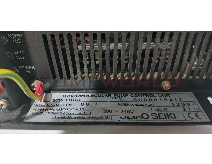 Used SEIKO SEIKI SCU-1000 TURBOMOLECULAR PUMP CONTROL UNIT