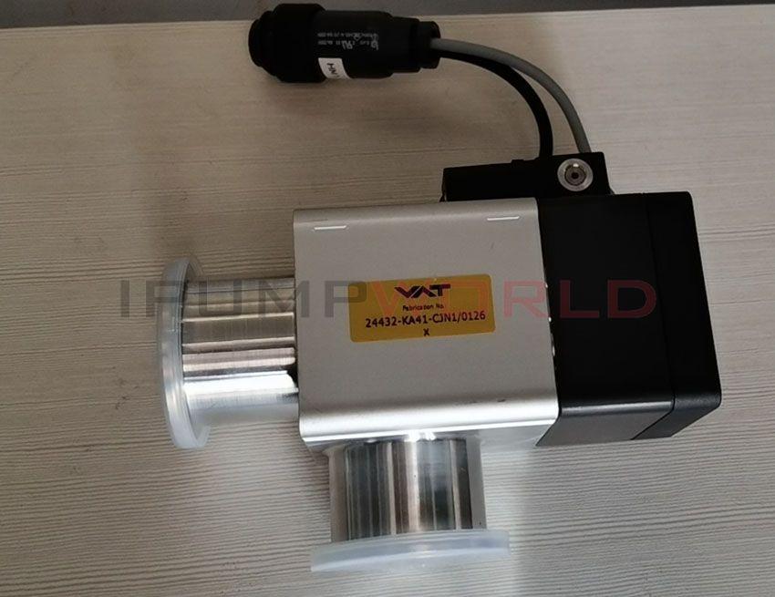 Used VAT 24432-KA41-CJN1/0126 x Vacuum Angle Valve
