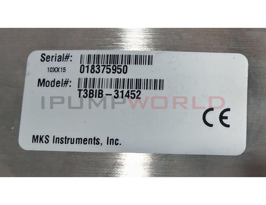 Used MKS T3BIB-31452 High Speed Exhaust Throttle Valve